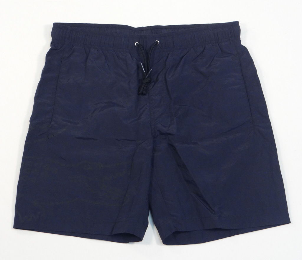 Lacoste Logo Dark Blue Brief Lined Swim Trunks Water Shorts Boardshorts Mens NWT - $74.99