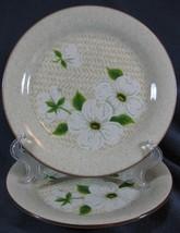 Mikasa Dogwood FD-801 Salad Plates Lot of 2 Stylemanor Flowers - $9.95