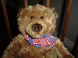 Gund Liberty Wind Up Musical Bear America The beautiful 12 inch 60115 Pl... - $174.10