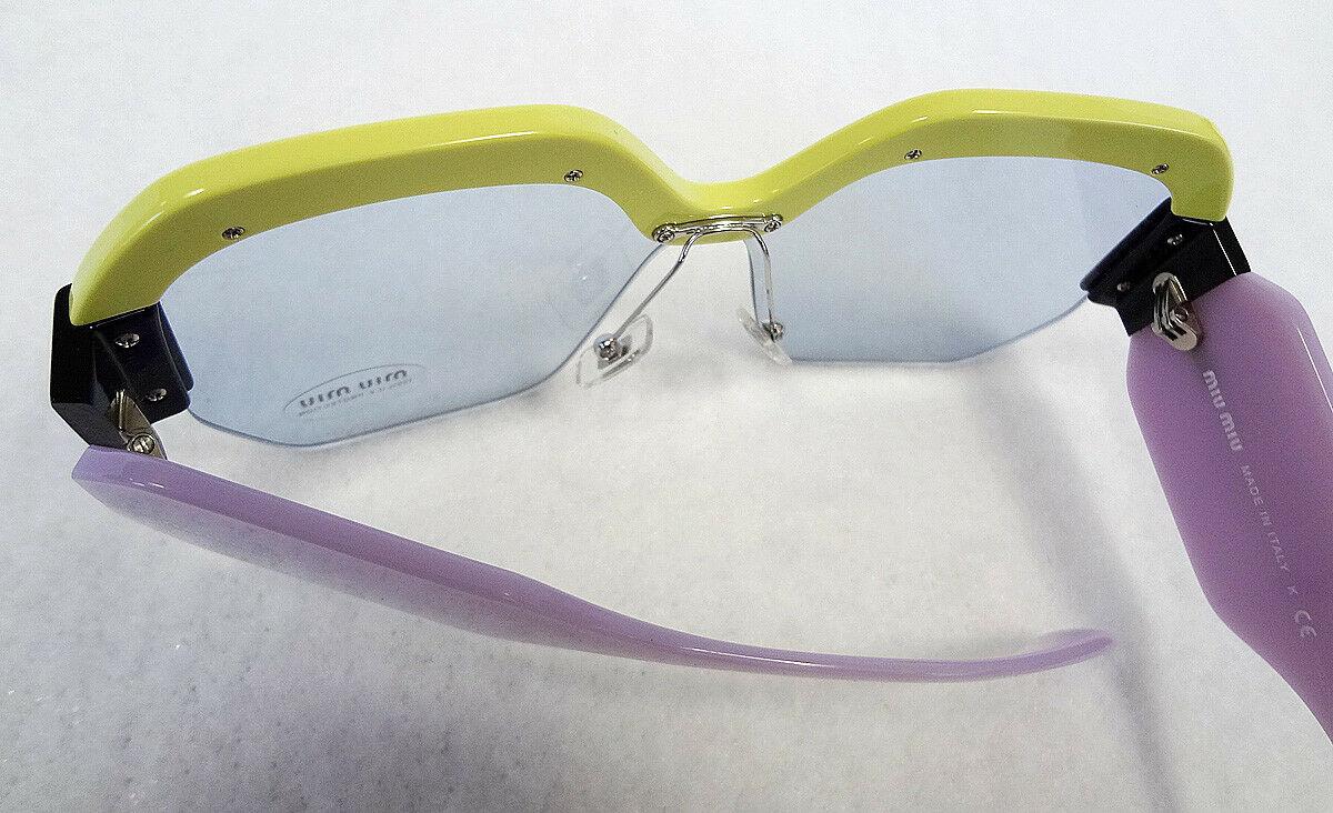 MIU MIU Women's Sunglasses MU09SS VIV4Q2 Green/Purple 135 MADE IN ITALY - New!