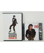 Michael Jackson - Number Ones (DVD, 2003) and Bad CD - $5.93