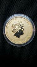 2016 1/10 oz Gold Year of The Monkey BU (In Capsule) Australia Perth Mint Lunar image 3