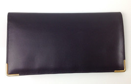 St. Thomas Black Pocket Wallet Paris Calf by Geoffrey Beene MSRP $40.00 - $19.79