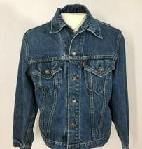 Vintage Levis Mens 42 Denim Jean Jacket 70505 0217 USA Type III Trucker - $98.01