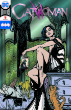 SDCC 2018 Graphitti Catwoman #1 Convention Exclusive Silver Foil Variant... - $21.20
