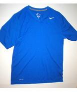 Mens Nike Training Shirt Blue Dri Fit Medium M New SS Running Training G... - $60.00