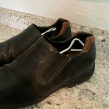 COLE HAAN casual dress Driving Loafer Slip On Black Leather Mens Sz 12 image 3
