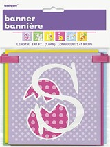 Spring Easter Block Banner 40 inches Party Supplies - $2.96