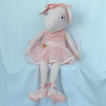Angelina Ballerina Pink Mouse Dance With Me Plush Madame Alexander Jumbo... - $247.50