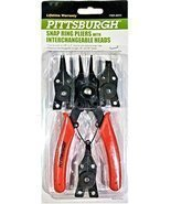 Snap Ring Pliers with 4 Interchangeable Heads - $8.82