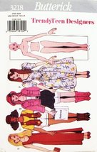 Butterick 3218 No Sew Dolls & Transfers (Vintage Oop Sewing Pattern) - $14.70