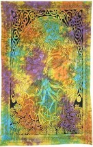 Twin Size Tapestry: Celtic Tree of Life | 54 x 86 | Made In India | Home... - £18.93 GBP