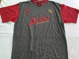 Def Jam University 84 XL Rap Hip Hop Urban Wear Shirt Stain - $7.22