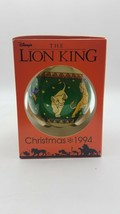 Schmid Collectors Gallery Disney's The Lion King 1994 Christmas Ornament - $16.78