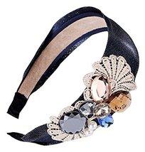 Crystal Lace Hair Ornaments Headband Elegant Anti - skid Pressure Hair Hoop