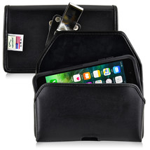 iPhone 8 Plus iPhone 7 Plus Holster Metal Clip Otterbox Case Leather Turtleback - $37.99