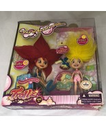 Trollz Dolls Day of Beauty Ruby Topaz Doll Set Target Exclusive Hair Tro... - $33.66