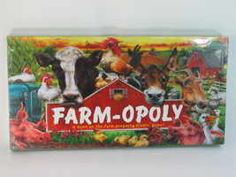 Farm-opoly 2005 Monopoly Board Game by Late for the Sky New Sealed - $22.65