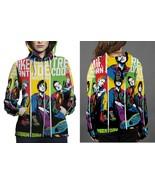 Green Day Pop Art Hoodie Zipper Fullprint Women - $50.99+