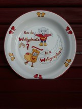 "Wade England Wellyphant World Baby Plate Kid Child Ltd Edition 8"" Stuart... - $19.79"