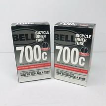 """Bell 700C Bicycle Inner Tube 700 x 35/43C & 27"""" x 1 1/8 - 1 3/8"""" PrestaLot of 2 - $13.81"""