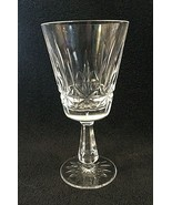 "Older Waterford Rosslare Cut Claret Wine Goblet Crystal Glass 6"" Excelle... - $39.11"