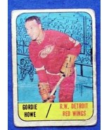 1967/68 Topps Hockey #43 Gordie Howe {Detroit Red Wings} - £35.62 GBP