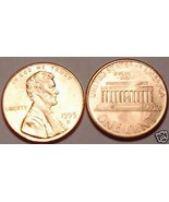 1995-D BRILLIANT UNCIRCULATED LINCOLN CENT - $0.97