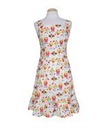 Bernie Dexter Fellini Dress in Sundae Best Print Soda Shoppe Ruffled Hem retro - £132.73 GBP