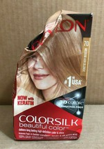 Revlon Colorsilk Beautiful Hair 3D Color #70 Medium Ash Blonde (Lot of 3) * - $13.09