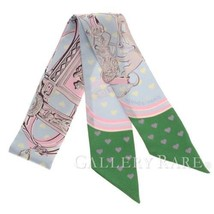 Hermes Scarf Twilly Brides De Gala Love Silk Limited Edition Authentic 4... - £209.63 GBP