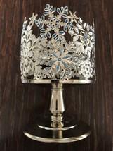 Bath & Body Works Jeweled Snowflake Pedestal 3-WICK Candle Holder Christmas 2020 - $24.00