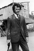 Clint Eastwood Dirty Harry Magnum at Side Dusty Suit Iconic 18x24 Poster - $23.99