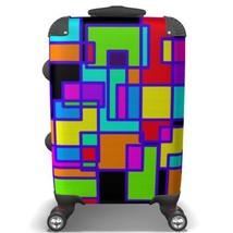 Geometric Suitcase - $152.90