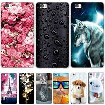 Case For Coque Huawei P8 Lite Case Cover Silicone For Capas Huawei P8 Li... - $6.41
