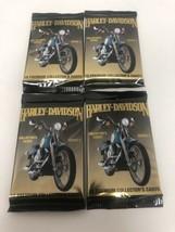 Lot of 4 Harley Davidson Premium Collectors Gold Cards Series 2 Set/10 C... - $8.95