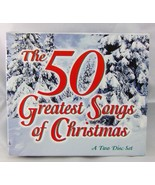 1997 The 50 Greatest Songs Of Christmas Two Disc Set Holiday CDs Music - $8.60