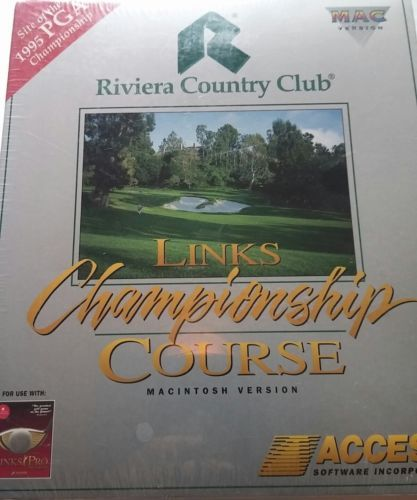 Brand new links championship course riviera and 50 similar items brand new links championship course riviera country club golf mac disc software m4hsunfo