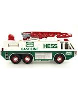HESS Gasoline Toy Emergency Truck 1996 Siren Search Light Flashers 12 in... - $38.60