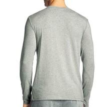 Hugo Boss Men's Modal Long Sleeve Pajama Top Loungewear Shirt Gray 50188508 image 2