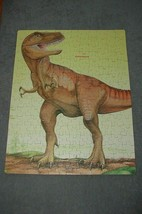 Golden Jigsaw Puzzle: Tyrannosaurus Rex T-Rex Dinosaur 200 pc [COMPLETE] 1988 - $12.00