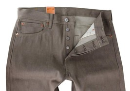 Levi's 501 Men's Original Fit Straight Leg Premium Jeans Button Fly 501-1405 image 2