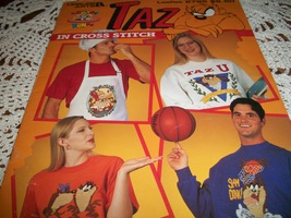 Taz In Cross Stitch Leaflet 2785 - $10.00