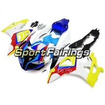 Fairings for BMW S1000RR 2011-2014 Injection ABS Bodywork Yellow Blue Pa... - $488.38