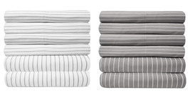 Loft Collection 6 Piece Sheet Set 1500 Thread Count Pinstripe - $27.89+