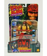 ToyBiz Smash N Slam Wrestlers. NWO Macho Man Randy Savage Figure - $32.73