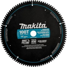 Makita A-94817 12-Inch 100 Tooth Ultra Coated Mitersaw Blade - $70.99