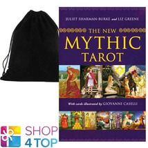 THE NEW MYTHIC TAROT CARDS DECK BOOK SET ESOTERIC US GAMES WITH VELVET B... - $50.98