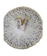 Panda Legends Kids Sequin Ballet Tutu Dress White Ballet Dress Swan Cost... - $38.95