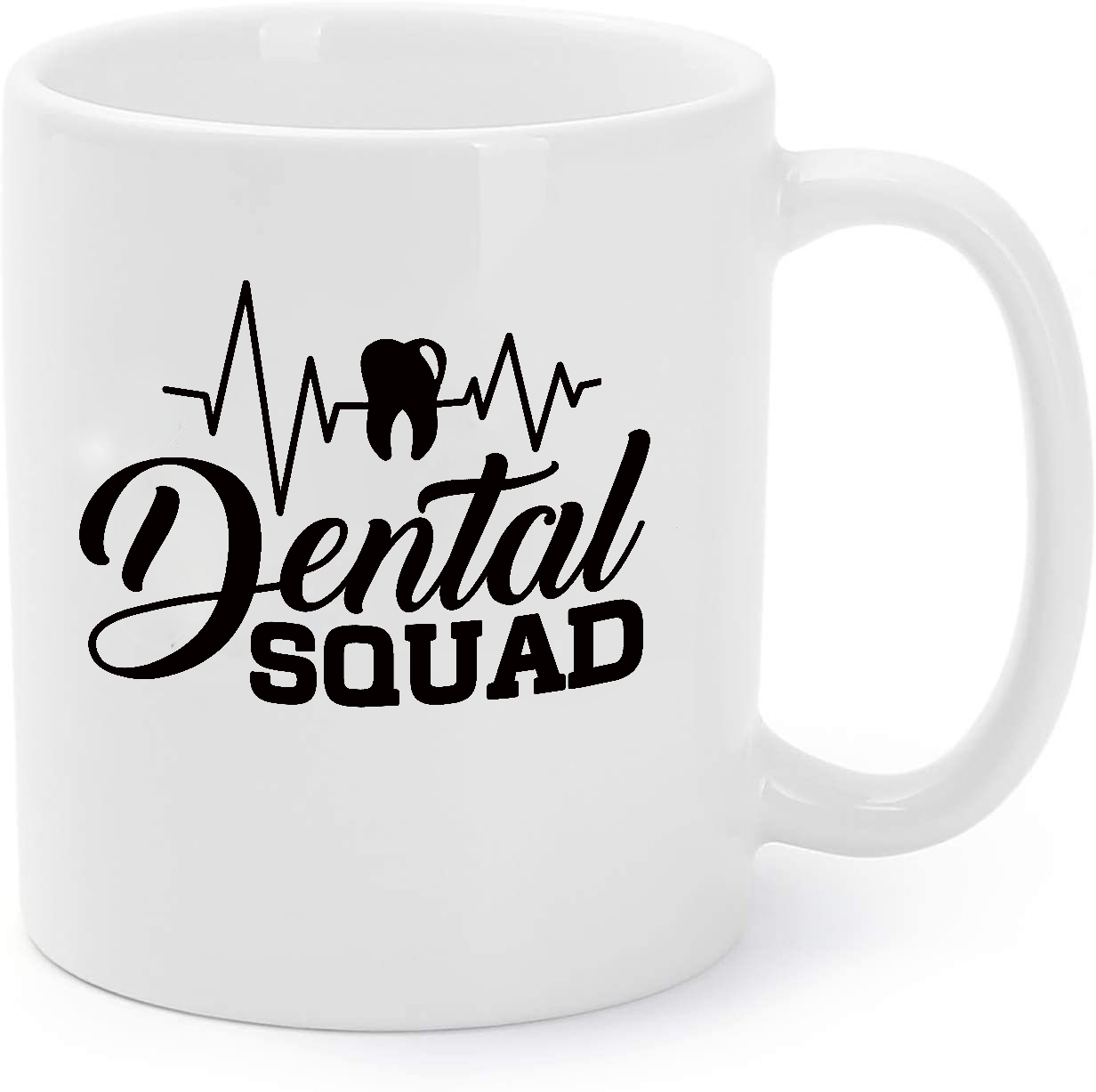 Primary image for Dental Squad Tooth Heartbeat Dentist Dental Coffee Mug